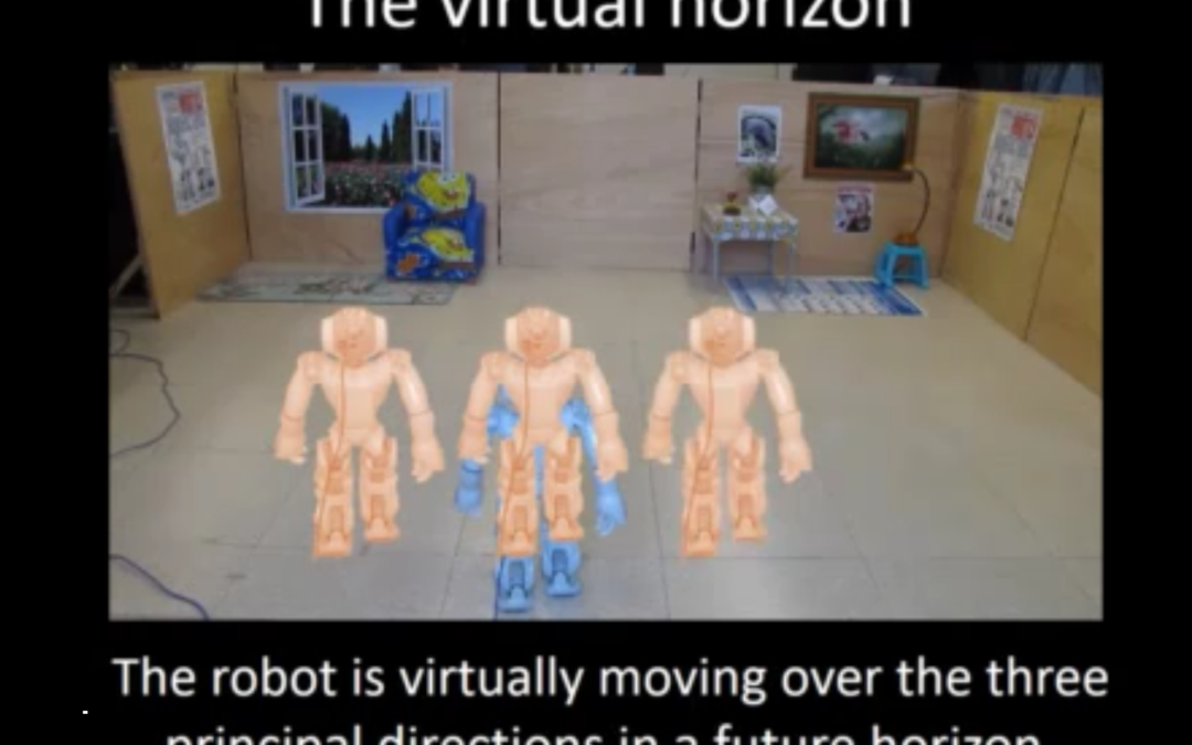 Vision based persistance localization of a humanoid robot for locomotion tasks