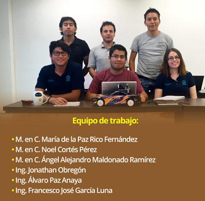 Estudiantes del Cinvestav desarrollan algoritmos para vehículo autónomo